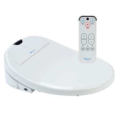 The Potty Seat Canada by Brondell White Elongated Heated Bidet Toilet Seat S900