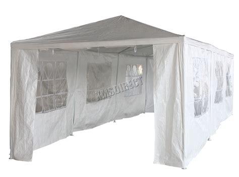 white waterproof outdoor garden gazebo party tent marquee canopy  ebay