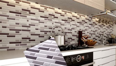 peel and stick kitchen backsplash peel and stick tile backsplash for kitchen wall mosaic 7389