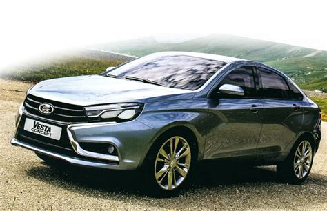 New Lada Vesta Sedan And Xray Hatch Concepts