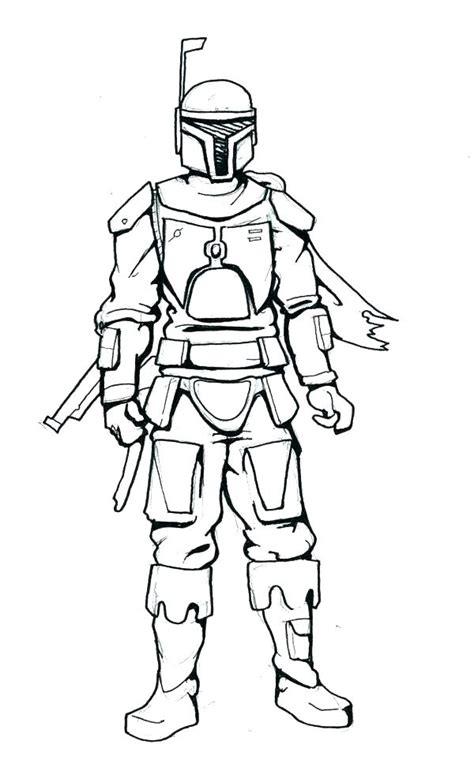 boba fett coloring pages  coloring pages  kids