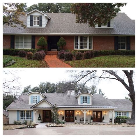 fresh ranch home exteriors 25 best ideas about painted brick exteriors on