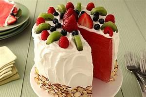 Watermelon 'Cake' - Kraft Recipes