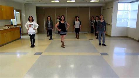 Sugar Line Dance Teach Youtube