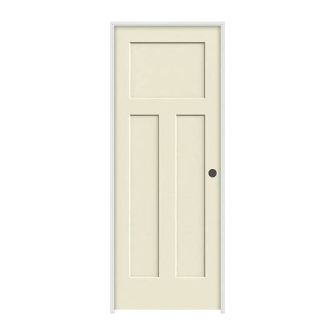 craftsman  panel primed molded solid core wood composite