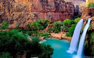 10, Most, Romantic, Waterfall, Wallpapers, For, Windows, 8