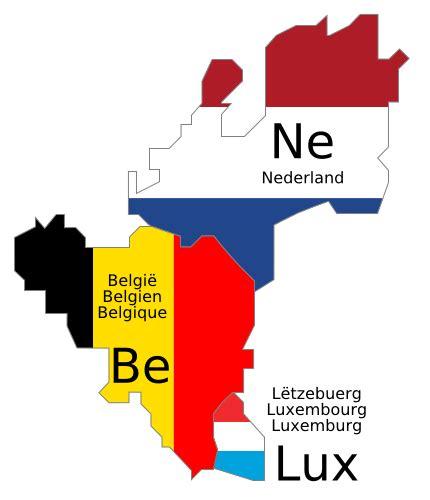 Sind Benelux Staaten by Benelux Vertrag