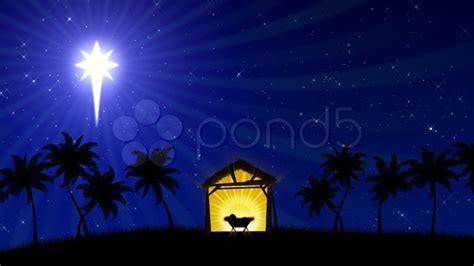 Animated Nativity Wallpaper - nativity 01 animated background hi res 000681841
