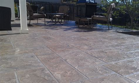 concrete patio cost patios san diego concrete coating specialists inc