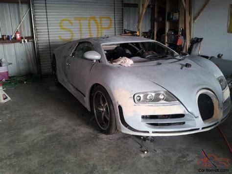 The bugatti veyron is a modern automotive legend. 2008 bugatti veyron replica