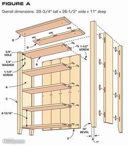 PDF Plans Simple Small Bookshelf Plans Download old school