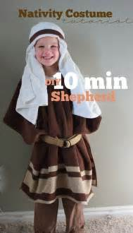 10 Minute Nativity Shepherd Costume