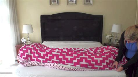 how to put on a duvet cover how to put on a quilt cover the easy way