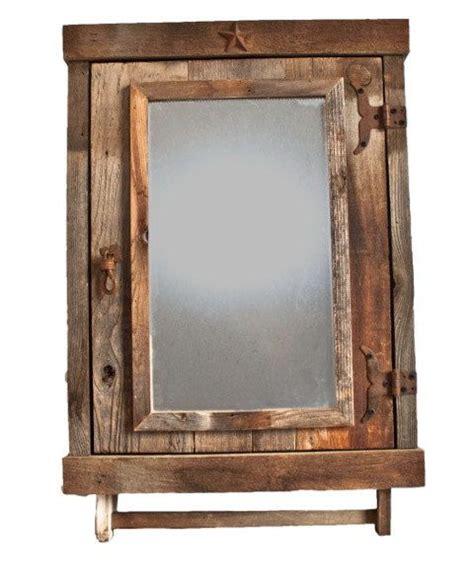 rustic medicine cabinets ideas  pinterest diy
