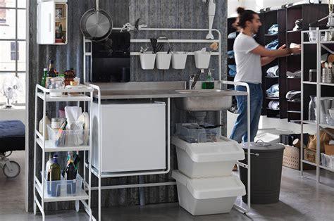 monter cuisine ikea sunnersta la kitchenette ikea abordable et facile à monter