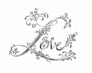 Love Tattoo Drawings In Pencil   fashionplaceface.com