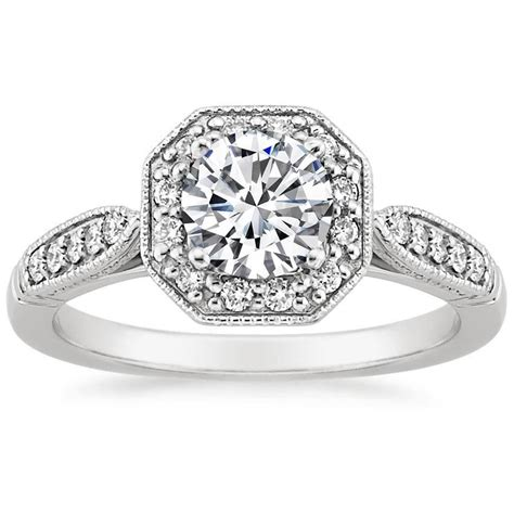 vintage victorian engagement rings brilliant earth