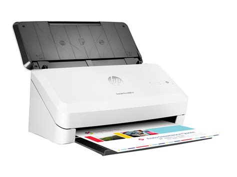 scanner bureau hp scanjet pro 2000 s1 sheet feed scanner de documents