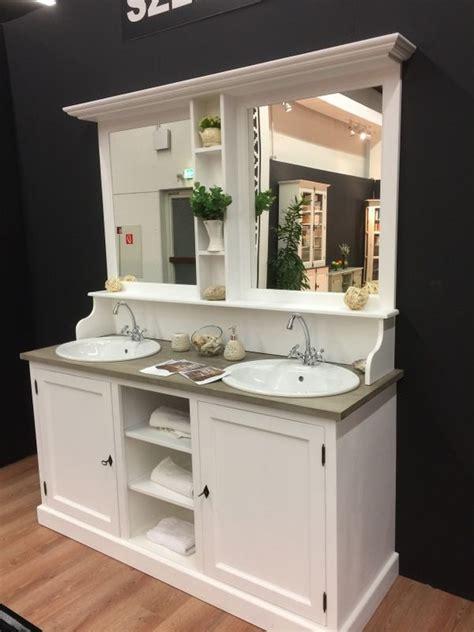 Badezimmer Spiegelschrank Nostalgisch by Waschtisch Wei 223 Landhaus Wei 223 Er Waschtisch Landhausstil