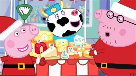 Peppa Pig English Episodes🎄peppa At Christmas Market🎄peppa