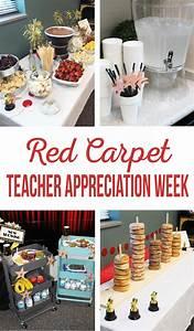 Food Ideas For Red Carpet Teacher Appreciation Week - The ...