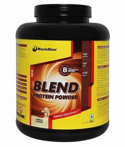 Protein Blend Kg Muscleblaze Nourish Muscles Lb