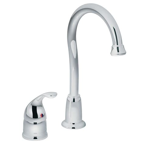 moen camerist kitchen faucet moen camerist single handle bar faucet in chrome 4905 the home depot