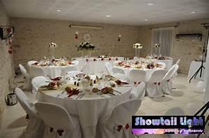 Décoration Salle Mariage : d coration de mariage soir e d co de salle de table ~ Melissatoandfro.com Idées de Décoration