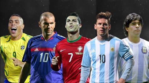 Die 10 Besten Fußballspieler Aller Zeiten!!!