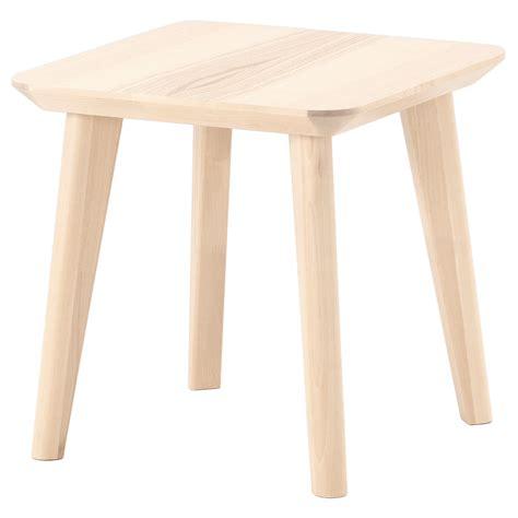 ikea side table lisabo side table ash veneer 45x45 cm ikea