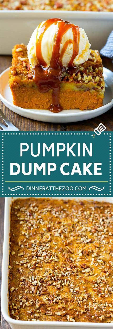 pumpkin dump cake dinner   zoo