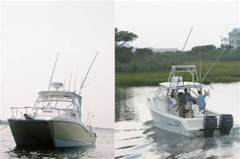 Monohull Boat by Power Cat Versus Monohull Which Is The Better Fishing