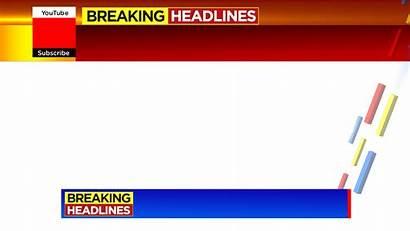 Breaking Headlines Studio Background Psd Screen Templates