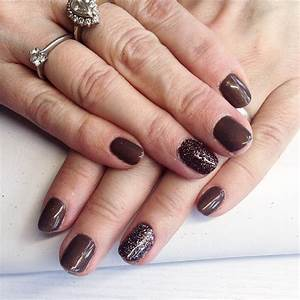 Pointy Light 25 Brown Nail Art Designs Ideas Design Trends