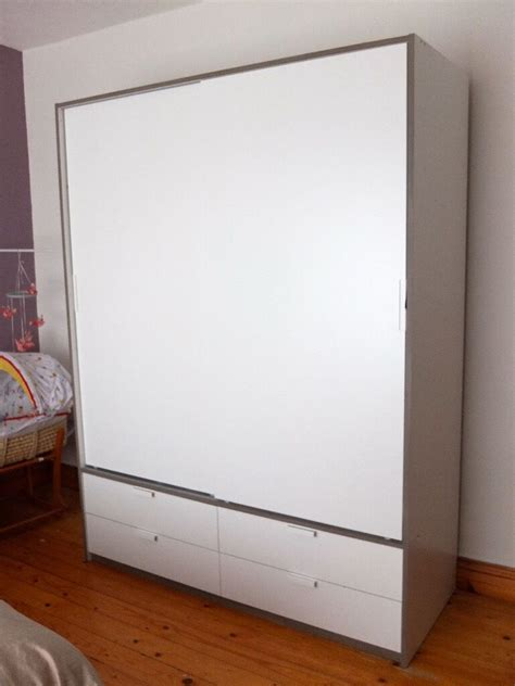 Ikea Schrank Trysil by White Ikea Trysil Wardrobe With Buy Sale And Trade Ads