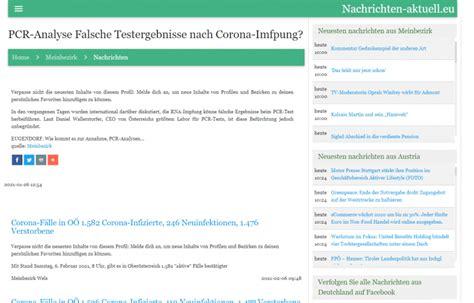 Check spelling or type a new query. nachrichten-aktuell.eu - PCR-Analyse Falsche Testergebnisse nach Corona-Impfung?   Novogenia GmbH
