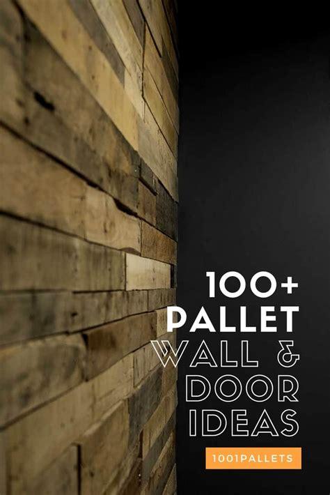 pallet wood walls doors diy ideas pallets