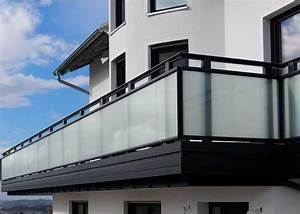 Balkongeländer Glas Anthrazit : balkongel nder aluminium alubalkon leeb balkone und z une ~ Michelbontemps.com Haus und Dekorationen