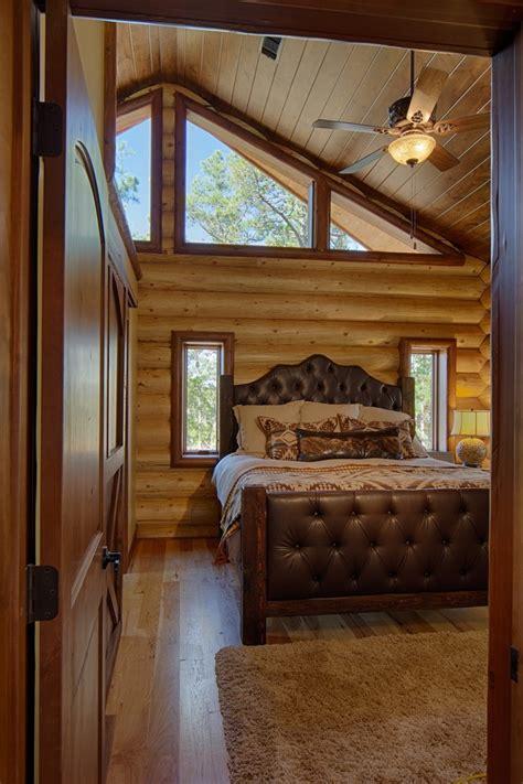 log cabin bedroom bedroom rustic  area rug cathedral