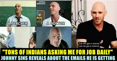 This Video Of Johnny Sins Talking About Indian Youths Goes