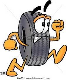 Cartoon Tire Clip Art