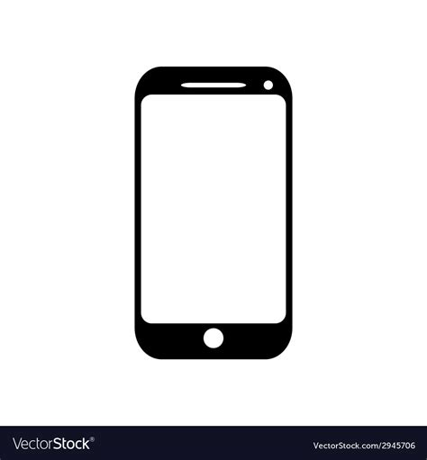 Mobile Free by Mobile Phone Icon Royalty Free Vector Image Vectorstock