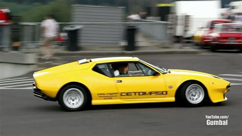De Tomaso Pantera - Exhaust Sounds!! - YouTube