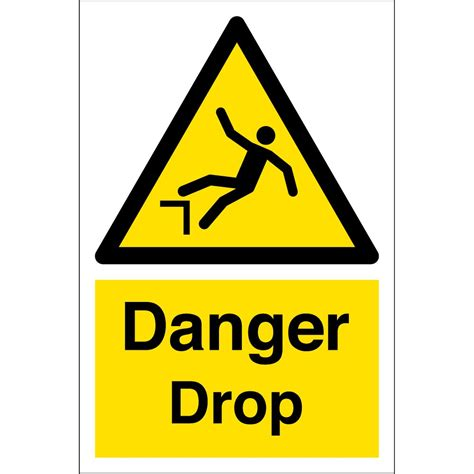 Danger Drop Signs  From Key Signs Uk. Project Title Lettering. Car Vista Tata Stickers. Mio Sporty Stickers. Cheap Vinyl Stickers. Excellence Logo. Healing Signs. Abcd Lettering. Prehospital Signs Of Stroke