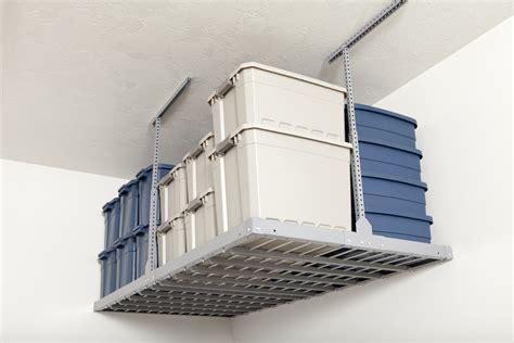 rangement garage au plafond accroo rangement