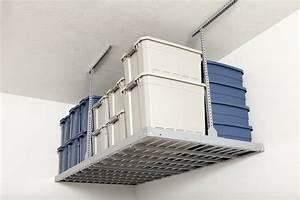 Rangement Plafond Garage : rangement garage au plafond accroo rangement ~ Melissatoandfro.com Idées de Décoration