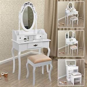 schminktisch mit hocker spiegel frisierkommode With französischer balkon mit gastro sonnenschirme 4x4