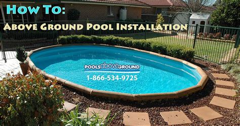How To Install An Above Ground Pool  Above Ground Pool Blog