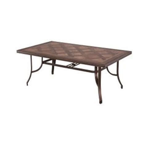 hton bay table l hton bay pine valley rectangular rectangular patio