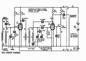 vintage radio and electronics a 2 valve short wave With valve radio circuit